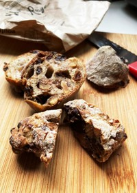フライパンでパンのリベイク