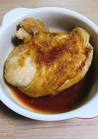 レンジで鶏むねテリヤキチキン