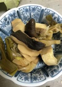 みんな大好き高野豆腐とキノコの含め煮
