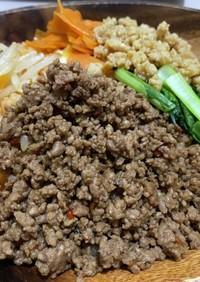 合挽き肉deキンパ風ご飯!