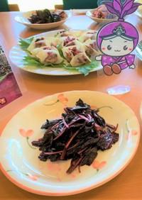 仙寿菜油炒め