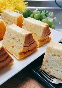 サツマイモシフォンケーキ  秋のケーキ