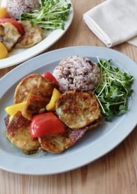 簡単♪彩り野菜と豚肉のスパイシーソテー