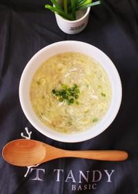 10分完成~色々使える卵スープ