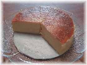 mamakissのしっとりミッチリの☆ベークド・チーズケーキ☆