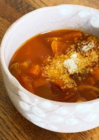 簡単☆煮るだけ野菜スープ