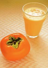 ☺秋の味覚♡簡単美味しい♪柿のラッシー☺