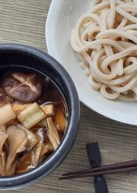 武蔵野うどん 簡単 キノコ汁 秋の味覚