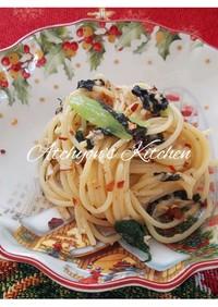 簡単!ツナ海苔味噌の和風冷製パスタ
