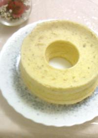 バナナシフォンケーキのレシピ