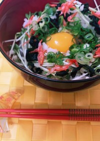 手軽で豪華なTKG(卵かけご飯)