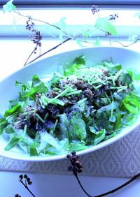 白菜と三つ葉のサラダ