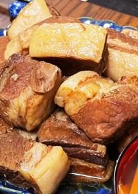 すき焼きたれと無水鍋で簡単豚の角煮