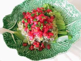 セロリの簡単サラダ