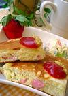 おやつ๑朝食に簡単アメリカンドッグ
