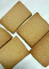材料3つ☆低糖質クッキー