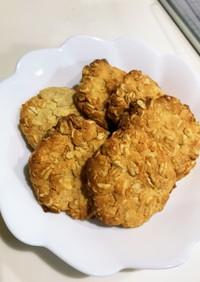 【低糖質】オートミールクッキー