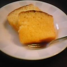 ラフランスの簡単ケーキ
