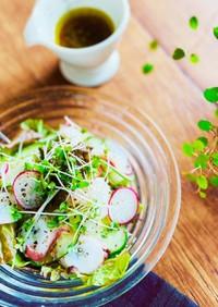 RF1風蛸のほんのり柚子グリーンサラダ
