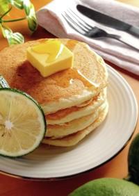 HMで簡単☆卵不使用レモンパンケーキ。