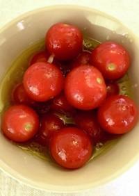 ミニトマトのメイプル薫るサラダ