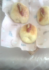 ウインナーパンのレシピ