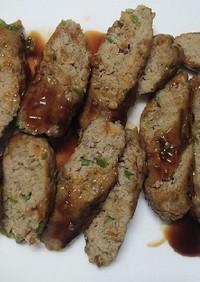 牛豚合挽肉で作る洋風ソーセージ