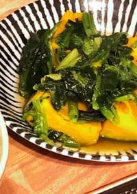 かぼちゃの煮物(チンだけど)