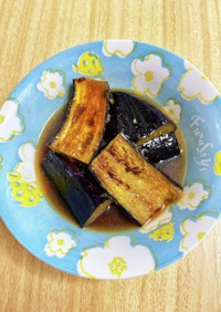 生姜たっぷりなすの煮浸し