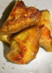 白茄子…すき焼き味の炒め物