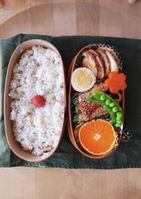 オクラ肉巻き韓国BBQ辛味ダレ☆お弁当