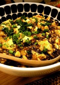 時短レシピ!もずく入り麻婆豆腐