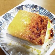 豆腐の味噌マヨネーズ焼き