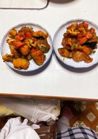 根菜入り酢鶏