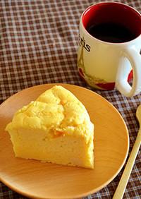 チーズ不使用!ヘルシースフレチーズケーキ