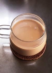 ルフナで生姜と胡椒のミルクティー