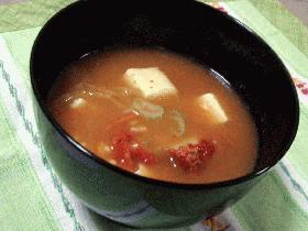 キムチの納豆汁