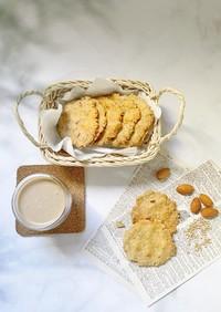 米粉のごまクッキー