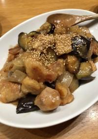 ポン酢で簡単・鶏肉の甘酢あん炒め