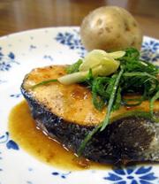 鮭の和風ムニエル☆すだちバター風味 の写真