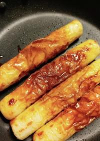 ちくわの焼き肉のタレ風味