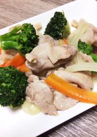 豚バラ肉の中華風炒め