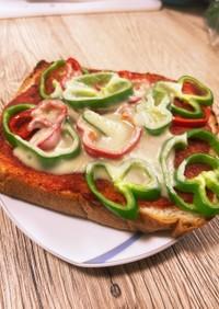 超簡単ピザトースト