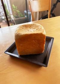 HBで牛乳はちみつオートミール食パン