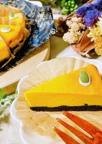 ハロウィンに◎かぼちゃのチーズケーキ風♡
