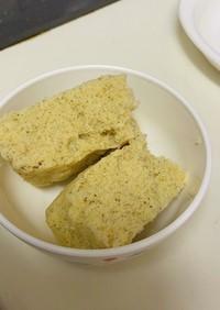 離乳食後期 簡単蒸しパン(きなこ)