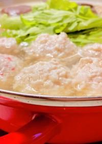 柚子胡椒香るフワッちゅる鶏団子♡水炊き♡