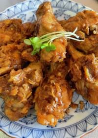長ネギたっぷり中華風鶏手羽元のピリ辛旨煮