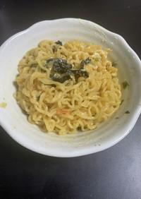 辛ラーメン汁なしマヨ麺