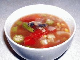 大麦と野菜のスープ!